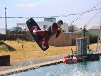 wakeboarding at Kingsway