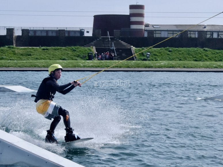 Wakeboarding at East Sussex