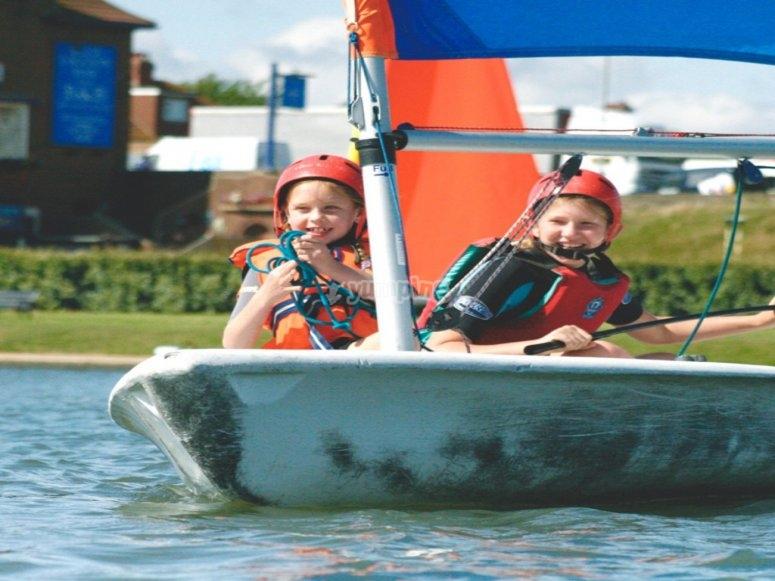 Sailing at Lagoon Watersports