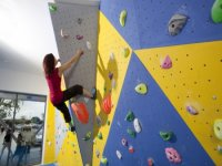 Our bouldering room