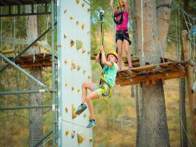 Treetop park for 4 participants, gift voucher