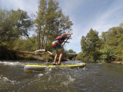 Paddle surfing El Vado Ciudad Rodrigo + snack