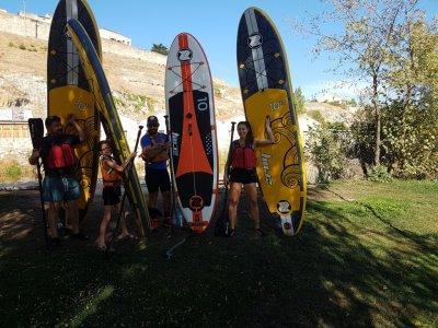 Paddle surfing descent Sanjuanejo + snack