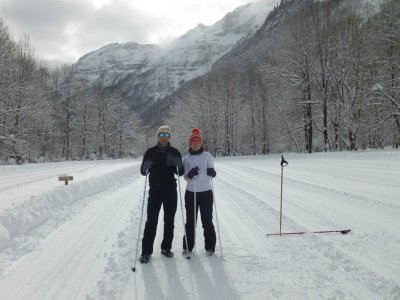 Snowshoes route at Huesca, 1 day