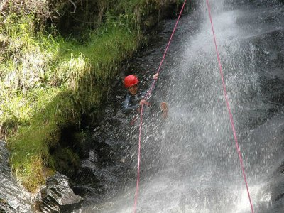 Canyoning Perfection Descent Estaron 3 hours