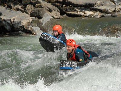 Riverboarding for 5km, Llavorsi - La Moleta