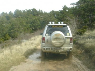Cister route in 4x4 vehicle+accommodation 2d