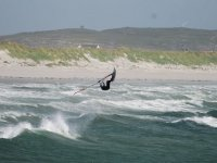 Windsurfing jump at Crossapol