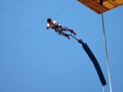 Bungee Jumping from in Lloret de Mar + Video