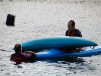 Learn how to empty your kayak of water