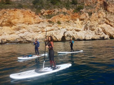 Paddle Surf Flat Water Course in Alicante
