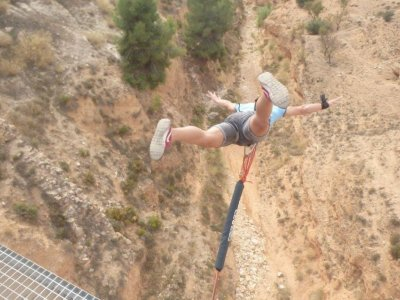 Bungee Jumping in Villena 2 Jumps + 1 Free