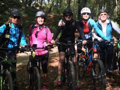 Montserrat Tour on electrical mountain bike