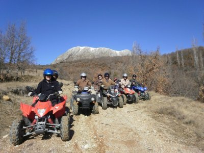 Two-Seater Quad Route in the Pyrenees 2 hours