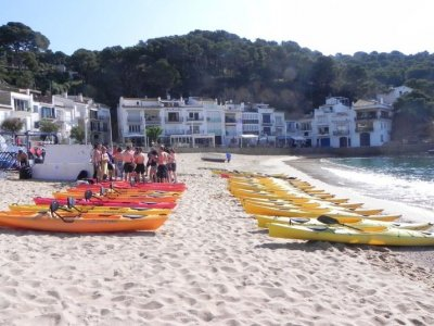 Kayaking Costa Brava Canoas