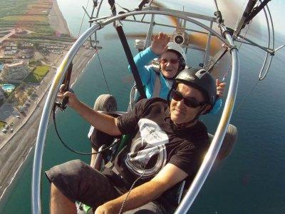 Paramotor Flight in Almuñécar w. Video & Photos