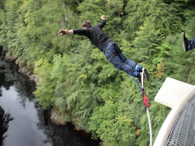Bungee Jumping 1h in Killiecrankie