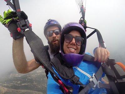 Flight Baptism Paraglider La Muela 15 Min