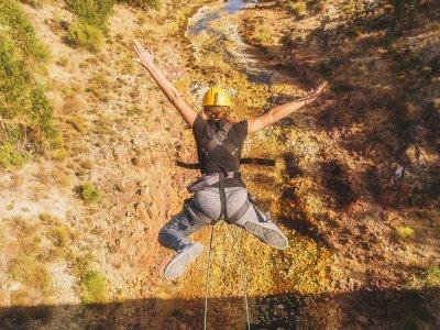 Bungee Jumping Zalamea La Real + Photos or Video