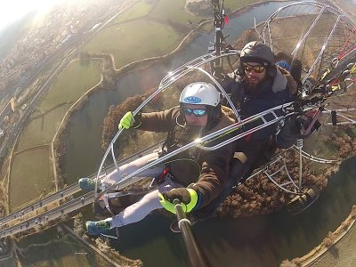 Paramotor Touristic Flight Toledo & Photos 20m