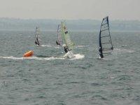Newtownards windsurfing races
