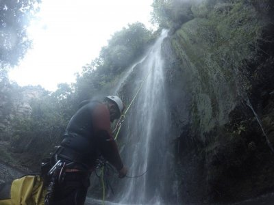 High Level Canyoning Nacimiento river Millares