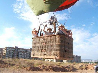 Balloon Ride Guadiamar River Seville + Breakfast