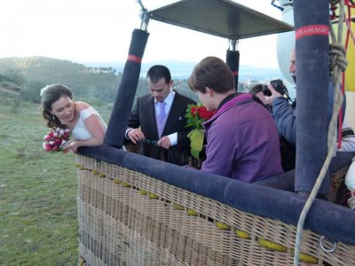 Private Balloon Flight For Couples Seville