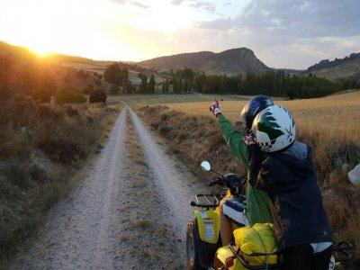 Quad Route in Alcarria Half a Day