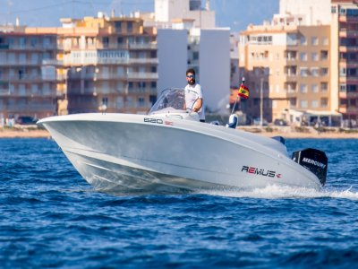 Boat Rental With License Torrevieja 4h