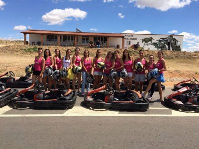 Bachelor Party in Martinamor Karts + Paintball