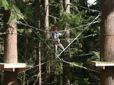 Get Wet The Adventure Company High Ropes