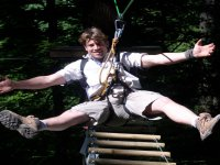 Enjoy High Ropes with Get Wet The Adventure Company!