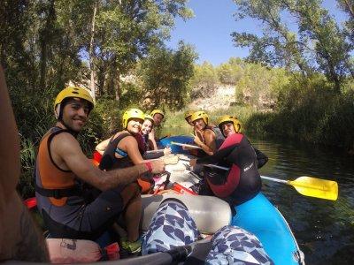 Rafting Descend Guadiela River + 2 Nights Hotel
