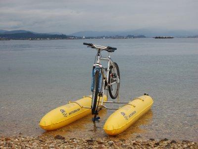 4-Hour Sea Bike Rental in Arousa