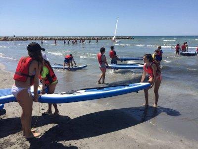 Urban Nautical Camp with English in Santa Pola