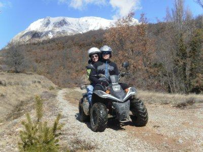 A 2-Seater Quad Route Through the Pyrinees 1h