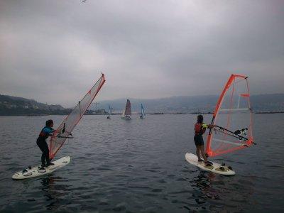 Windsurfing baptism in Moaña, 3h