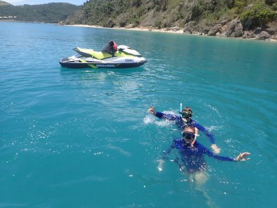 Jet Ski Route to Tabarca with snorkel 90 min