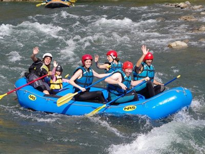 Rafting Esera at Benasque Initiation Trail - Kid
