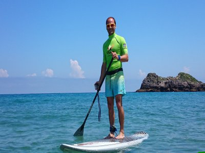 Paddle Surf Baptism in Costa Verde