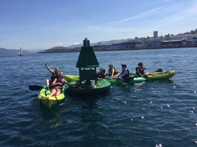Single kayak rental half day, Moañas