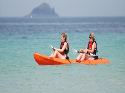 Harlyn Surf School Kayaking