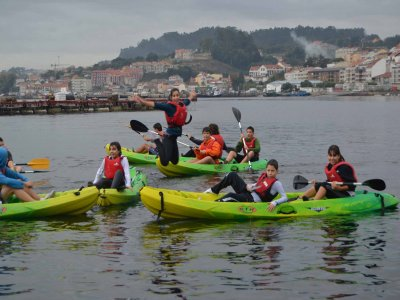Rent a two-seater kayak, Moañas, all day