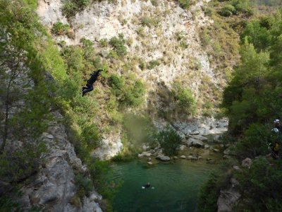 Integral Canyoning Verde River in Granada, 6h