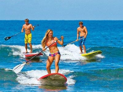 1-Hour Paddle Surf Rental in Huelva