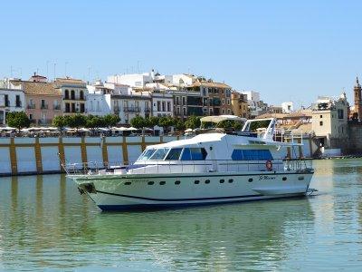 Luxurious Yacht Route in Guadalquivir + Iberians