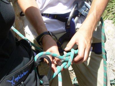 Climbing Knots Workshop for Climbers, Penedés, 4h