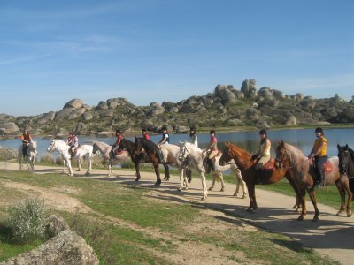 Game of Thrones Horseback Route, Barruecos, 1h