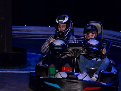 2-Seater Karting Race en Coruña, for Adult and Kid
